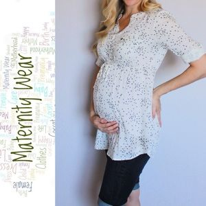 Motherhood Maternity Dandelion Print Tunic